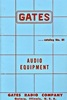 1955 Gates Audio Catalog
