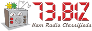 73.BIZ Ham Radio Classifieds
